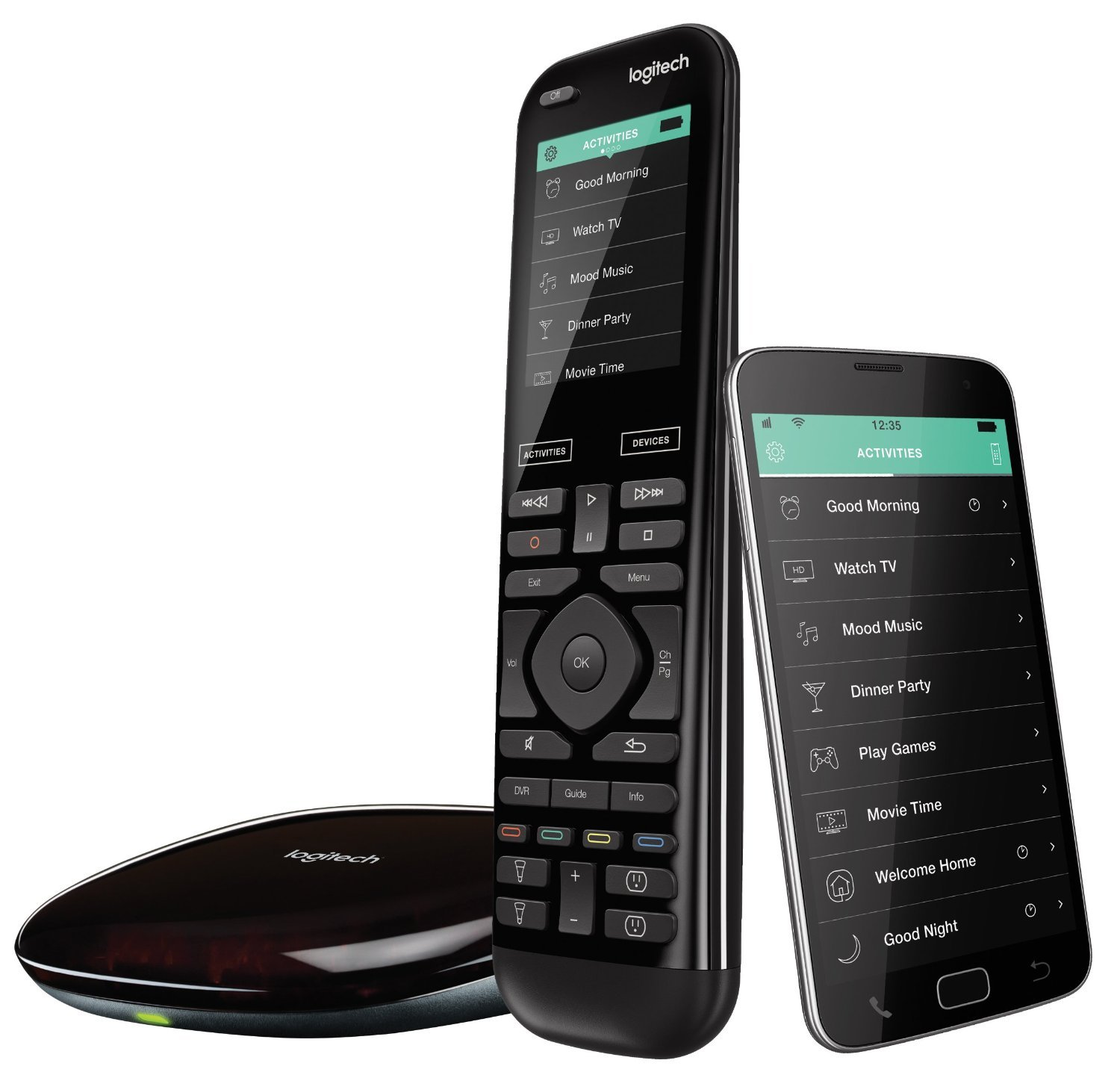 Designing a Home Theater - Home Theater Remote - Logitech Harmony Elite Remote