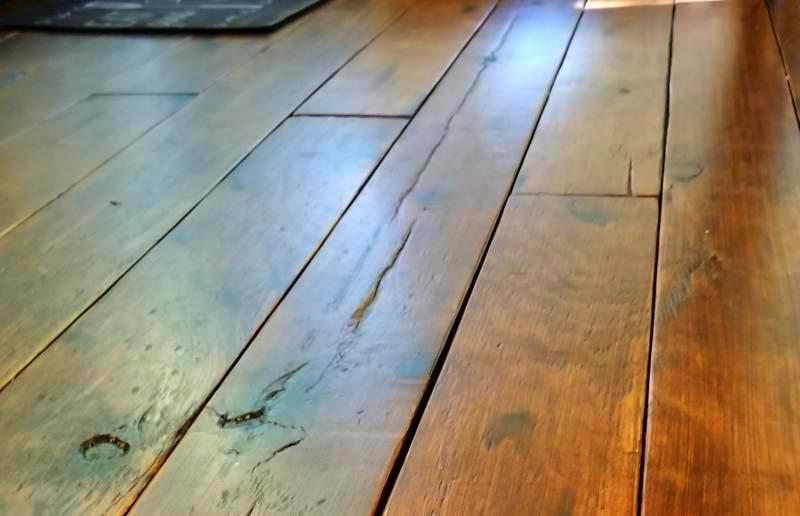 Diy Rustic Wide Plank Plywood Flooring